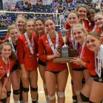 State Runners-Up! Powdersville High School Girls Varsity Volleyball second to Bishop England High School