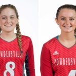Albright, Hardy Named Volleyball All-State