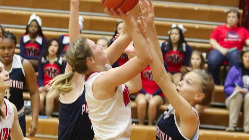 Girls Varsity Basketball falls to Palmetto 57 – 52