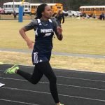 Girls JV and Middle School Track Compete in Hurricane JV Invitational