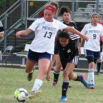 Girls Junior Varsity Soccer beats Greer Senior 13 – 0