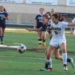 Girls Varsity Soccer falls to T L Hanna 4 – 1