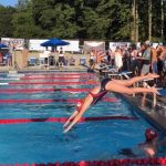Powdersville Races in First Swim Competition in School History