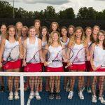 Powdersville Varsity Girls Tennis Plays for Region Title at Home Monday, October 8