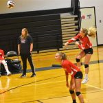Powdersville Junior Varsity Volleyball defeats Pendleton 2 – 0