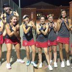 Powdersville Girls Varsity Tennis beats Seneca 6 – 1