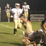 Powdersville Junior Varsity Football falls to Seneca 17 – 16