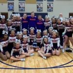 Powdersville Competitive Cheerleaders Place Second at Daniel