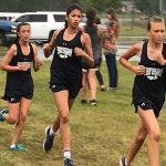 Powdersville Girls Cross Country runs in Region Meet at Liberty