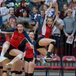 Powdersville Varsity Volleyball beats Fairfield Central 3 – 0