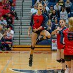 Powdersville Varsity Volleyball beats Chesnee 3 – 1in Second Round of Playoffs