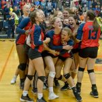 Powdersville Varsity Volleyball Repeats as Upperstate Champs, Defeats Chapman 3 – 1