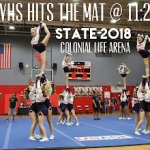 Powdersville Cheerleaders Compete in State Final Saturday, November 17
