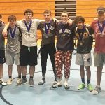 Powdersville Varsity Wrestlers Compete at Woodmont Wildcat Invitational