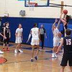 Powdersville Boys Varsity Basketball falls to Wren 98 – 87