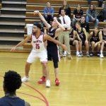 Powdersville Boys Varsity Basketball falls to Palmetto 63 – 61