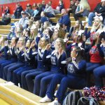 Powdersville Varsity Cheerleaders Sound Off for Patriots at Palmetto