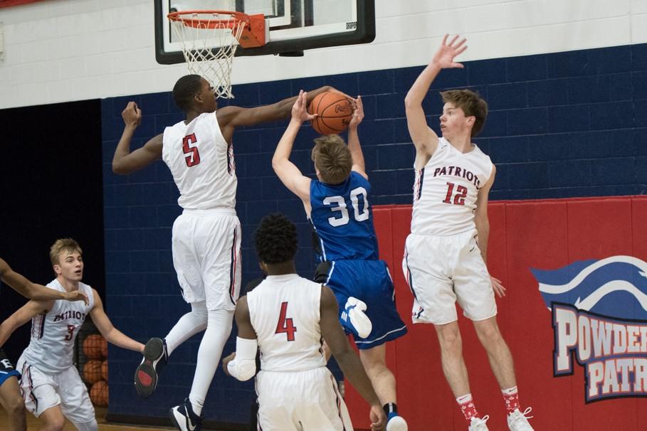 Powdersville Boys Varsity Basketball falls to Eastside 53 – 48