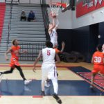 Powdersville Boys Varsity Basketball falls to Carolina High School & Academy 52 – 51