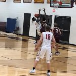 Powdersville Boys Varsity Basketball falls to Woodruff 73 – 72