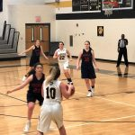 Powdersville Girls Junior Varsity Basketball beats Crescent in Overtime 25 – 19