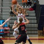Powdersville Girls Varsity Basketball beats Liberty 35 – 27