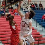 Powdersville Boys Varsity Basketball beats Liberty 61 – 47