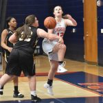 Powdersville Girls Junior Varsity Basketball beats Crescent 34 – 16