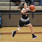 Powderville Girls Varsity Basketball falls to Seneca 77 – 49