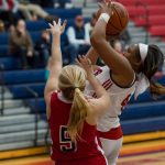 Powdersville Girls Varsity Basketball Holds On to Defeat West Oak 59 – 58