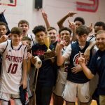 Powdersville Middle Boys Basketball Wins Region Tourney over Wren 34-32, Finishes Undefeated