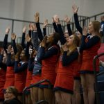 Powdersville Spirit Cheerleaders Add Volume to a Memorable Patriot Moment