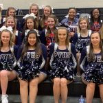 Powdersville Spirit Cheerleaders Ready at Liberty