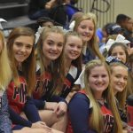 Powdersville Cheerleaders Energize Tie-Breaker