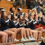 Powdersville Cheerleaders Go the Distance with Lady Patriot Basketball