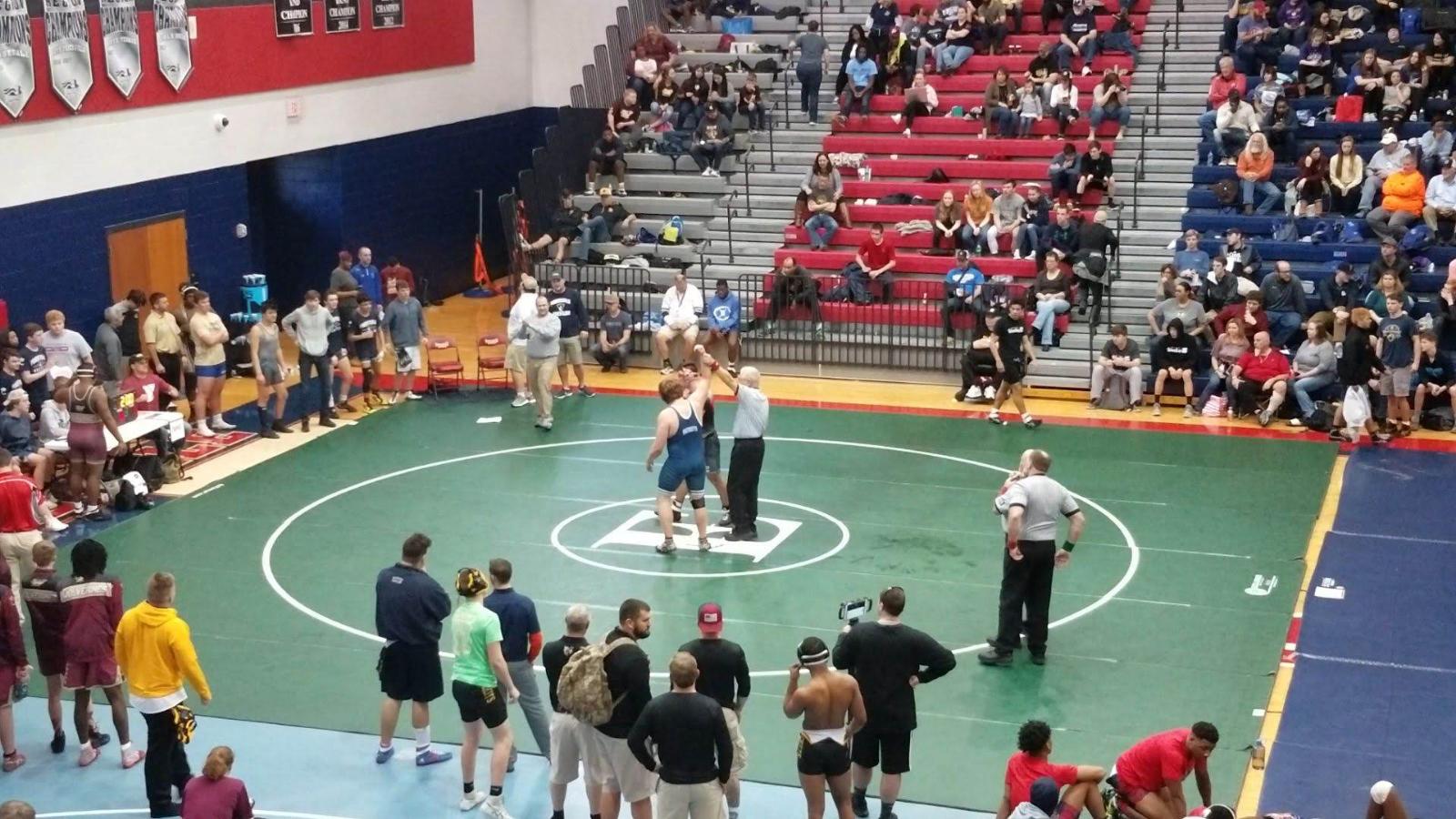 Powdersville Varsity Wrestling Advances Five to State Finals; Cain Upperstate Champion
