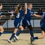 Powdersville Girls Junior Varsity Soccer beats Belton-Honea Path 1 – 0