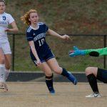 Powdersville Girls Varsity Soccer defeats West Oak in PKs (2-2 Regulation, 2-1 Shoot Out)