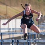 Powdersville Girls Varsity Track finishes 2nd place at home against Seneca, Carolina