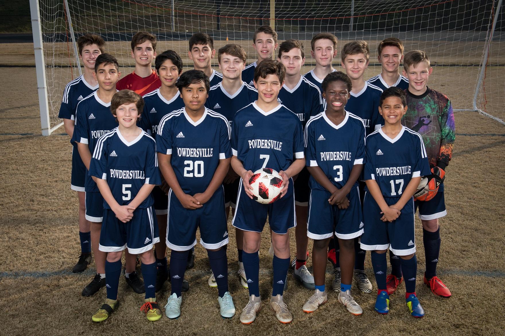 Powdersville Boys Junior Varsity Soccer beats Crescent 12 – 0