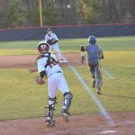 Powdersville Junior Varsity Baseball falls to Travelers Rest 7 – 4