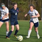 Powdersville Girls Junior Varsity Soccer defeats Belton-Honea Path 1 – 0 in Overtime