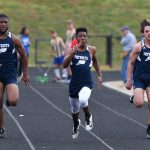 Boys Varsity Track Defeats Wren at Home Meet for Senior Night