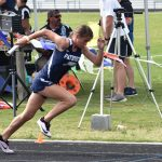 Powderville Girls Track Competes at Upper State Qualifier – Advances Pole Vaulter to State Finals