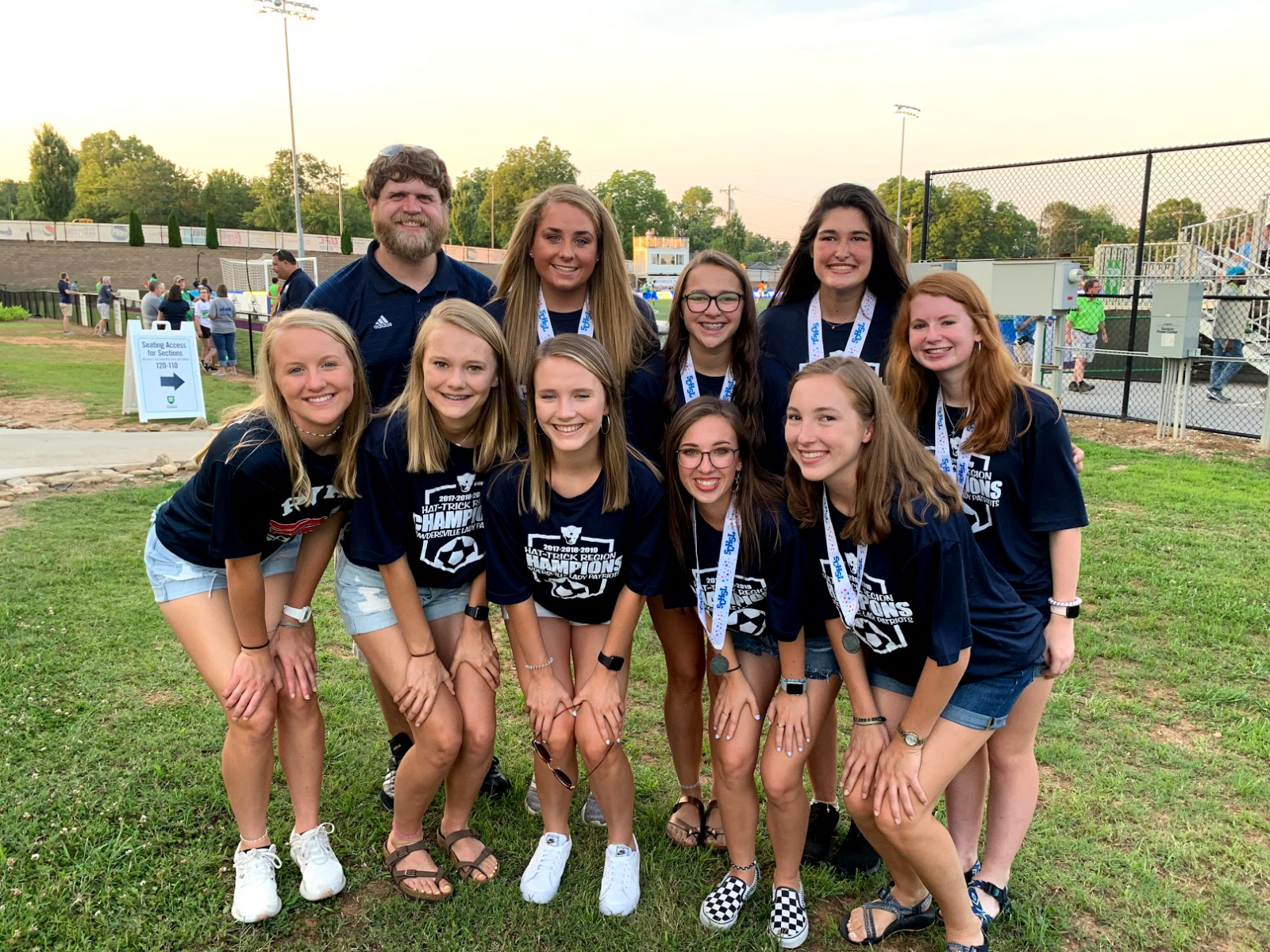 Greenville Triumph Recognizes Powdersville Girls Soccer