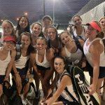 POWDERSVILLE girls tennis defeats Wren 6-1