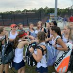Girls tennis fall to bears in 0-7 defeat