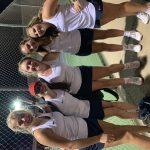 POWDERSVILLE Girls Tennis Lose in Hard Fought Battle