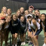 Powdersville girls tennis lose in a close match