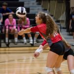 JV Volleyball Crushes Pendleton In Region Match